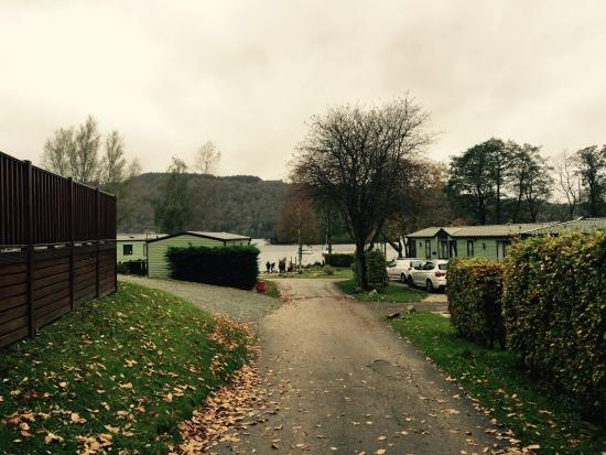 Fallbarrow Holiday Park: Short walk from the Cottage