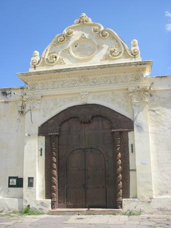 San Bernardo Convent : La entrada principal