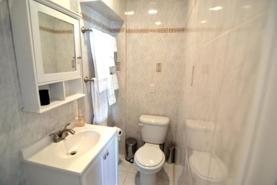 Brooklyn Suites: bathroom at 170 17th Street in South Slope