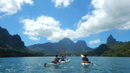Kayak Nomad Polynesia : Moorea encore plus belle avec un peu de recul