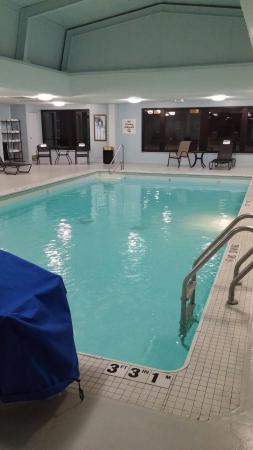 Holiday Inn Express Detroit - Downtown: 17th floor pool