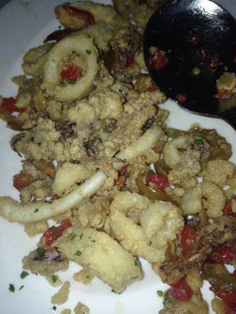 Capital Grille : Calamari