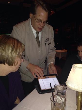 The Capital Grille: iPad Menu