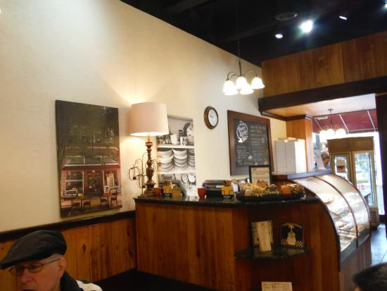 Cashier Area And Bakery Cabinet Picture Of Bakers Kitchen New Bern Tripadvisor
