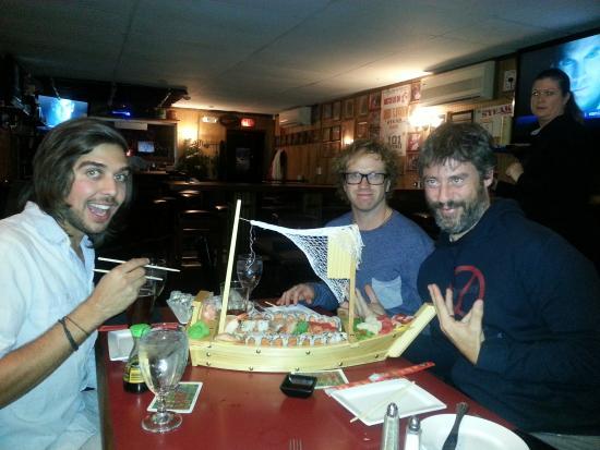 Steak & Main: Sushi Boat