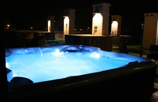 terral hotel u spa jacuzzi al aire libre