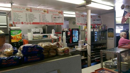 Spot Restaurant : Order area