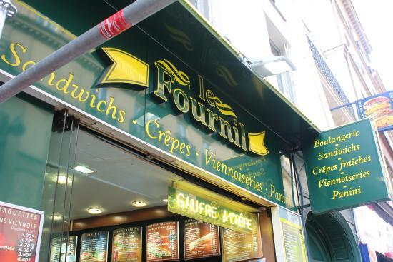 Le Fournil: Perfect on the go!