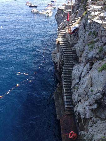 Capri Palace Hotel & Spa: Beach Club