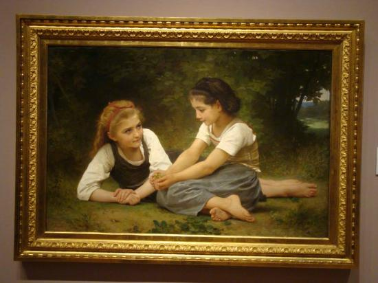 The Nut Gatherers Is An 1882 Oil Painting By The French