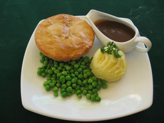 Lady Pie: THE CLASSIC -Pie, mash, peas & gravy