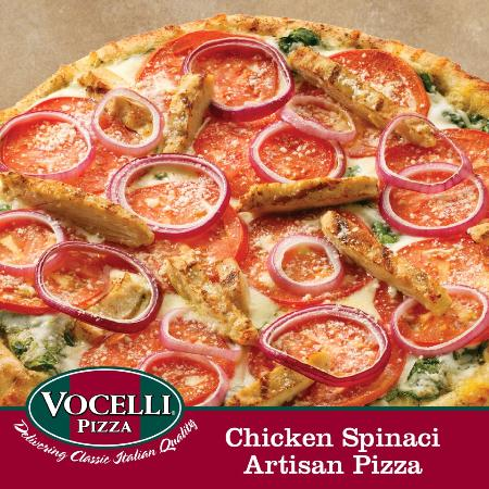 After Vocelli's tacks on that extra $, (on average about a 10% increase of the listed price), you end up with an amount higher than anyone would pay for a mediocre, corporate chain store pizza they could get for less at numerous other places.