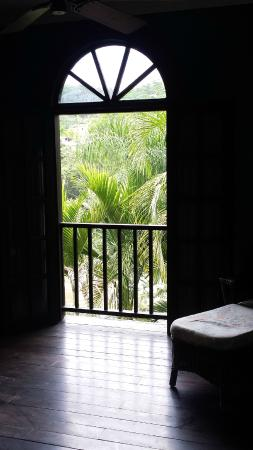 Mahogany Hall Boutique Resort: 3rd floor suite view