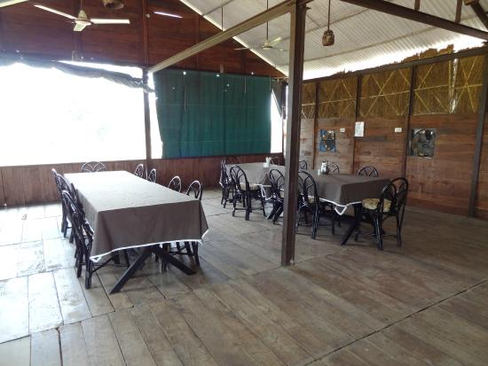 Muba's Machaan: Dining area