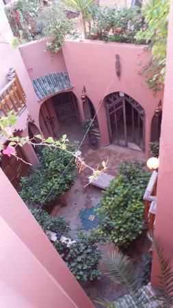 Riad Amira Victoria: terrasse
