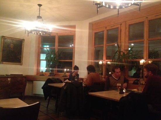 Restaurant Beaulieu: una delle sale