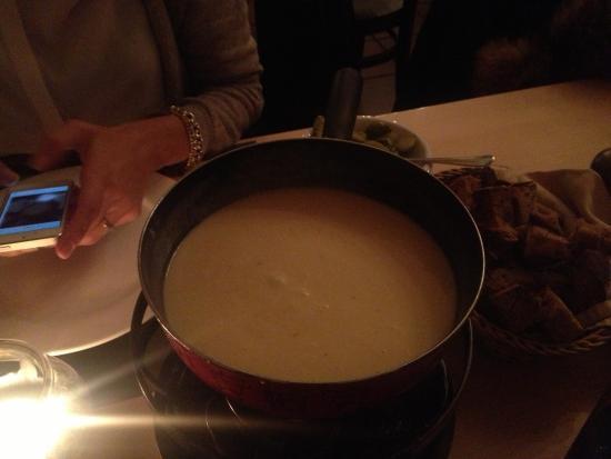 Restaurant Beaulieu: fondue
