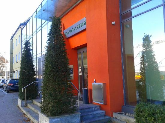 Kremstalerhof: Eingang