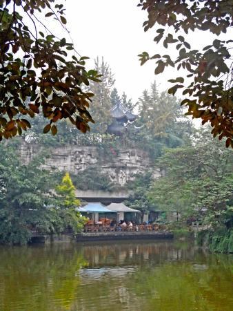 Chengdu Culture Park: tea-hose