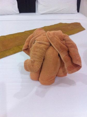 Nirvana Inn : Un elefantino di asciugamani!