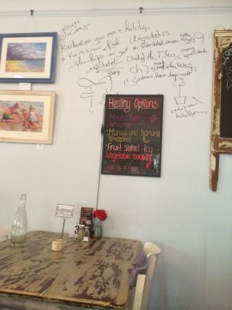 Lilla's Cafe: Funky decor