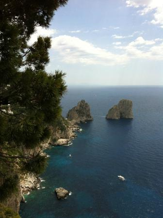 Alle Ginestre Capri Bed & Breakfast: Panorama