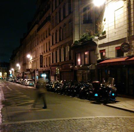 Hotel Antin Saint Georges: Ulica