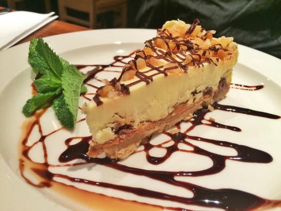 The Wharf: Best salted caramel cheesecake ever!!!