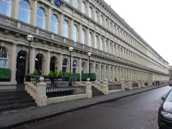 Hilton Glasgow Grosvenor Hotel: Hotel front