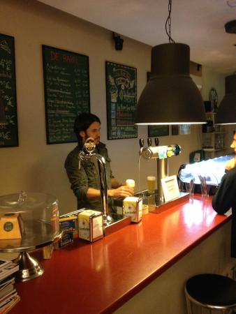 The Beer Shop: Wide choice of authentic beers on the tap
