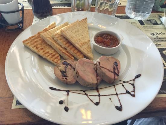 Cafe de la Gare: Le foie gras fais maison est un vrai régal !