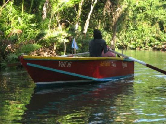 Ruderboot auf indian river
