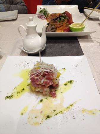 Caparena Sushi & Wine: Tartare Caparena.