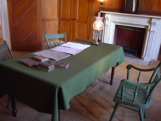 President Lincoln's Cottage : L'interno del cottage