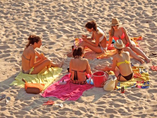 Camping 1ª O Muiño - Bungalow Park: Playa