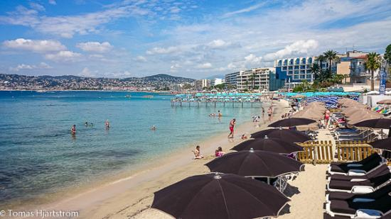 Juan Les Pins Beach Picture of Juan les Pins Main Beach Juanles