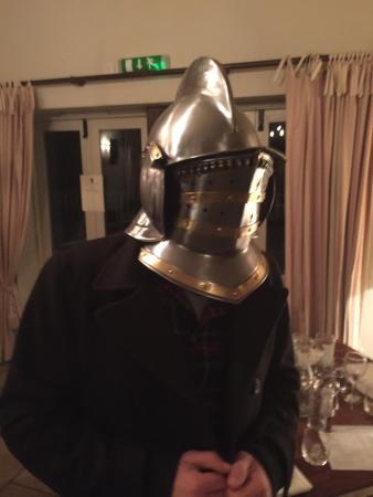 Duke of Cumberland: I just knew that helmet on the dresser had a purpose