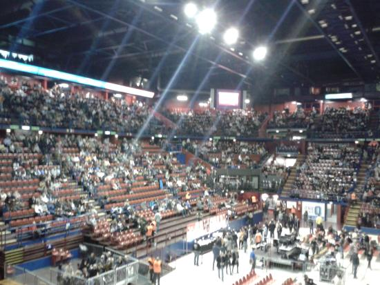 Assago, Italy: Vista dalla tribuna laterale