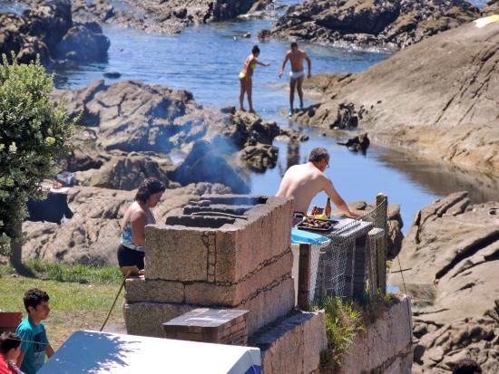 Camping 1ª O Muiño - Bungalow Park: Barbacoa