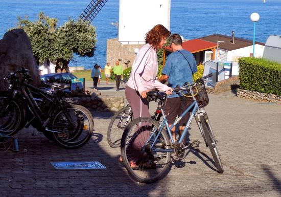 Camping 1ª O Muiño - Bungalow Park: Alquiler bicicletas