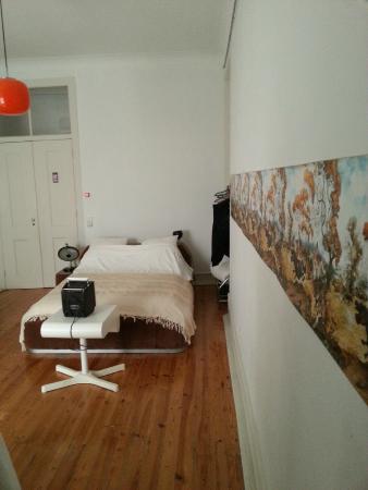 Lisbon Calling: Chambre depuis la salle de bain