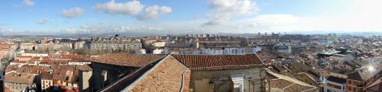 Catedral de Santa Maria: Panorámica de Vitoria-Gasteiz desde la Torre