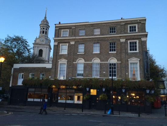 Innkeeper's Lodge London Greenwich: отель