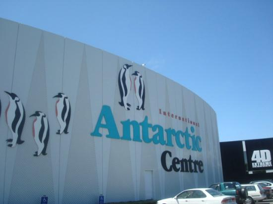 International Antarctic Centre: Entrada do Centro