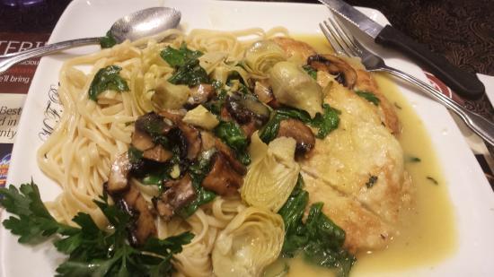 Pasta Bella : Health Nut Chicken