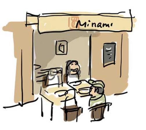 restaurant minami dans annecy avec cuisine japonaise. Black Bedroom Furniture Sets. Home Design Ideas