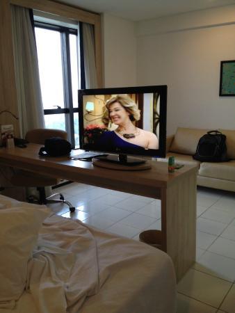 Quality Hotel Manaus: Quarto amplo e confortável
