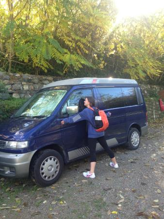 Camping Internazionale di Castelfusano: Our beloved van
