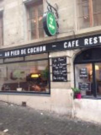 Au Pied de Cochon : belle brasserie genevoise