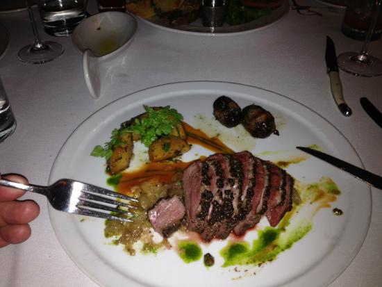 Sidney: Pepper-crusted Duck